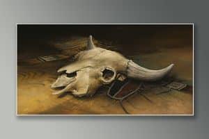 acrylicskull