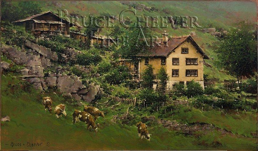 Cheever090811-02 Hillside Farm, Wassen