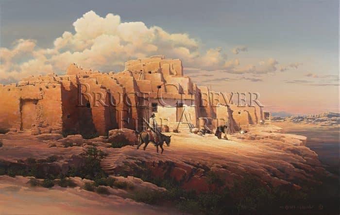 Cheever150810-01 Painted Desert, Walpi