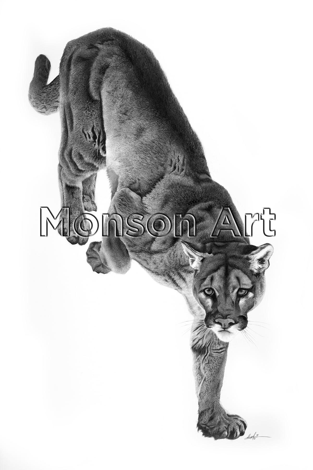 Monson190312-01 Cougar 40×60